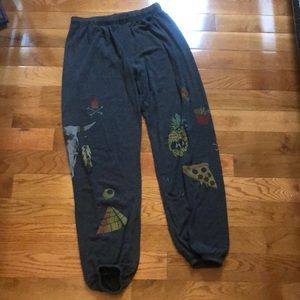 Lauren moshi graphic sweatpants